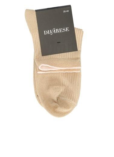Divarese Divarese 5023468 Kadın Çorap Bej